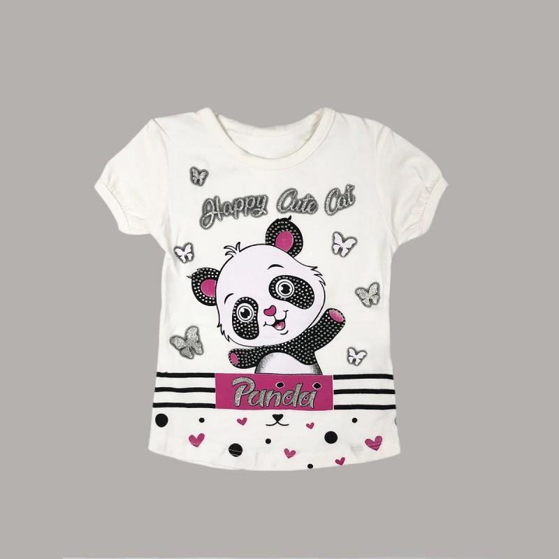 Детска тениска Keiki с къс ръкав за момичета. - 51220-015-86 - view 1