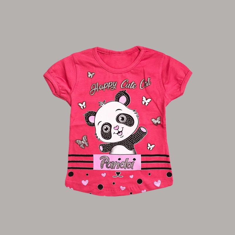Детска тениска Keiki с къс ръкав за момичета. - 51220-004-86 - view 1