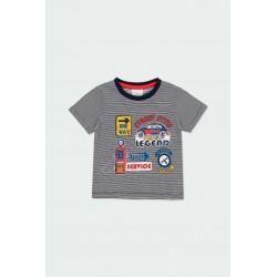 Тениска Boboli с къс ръкав - 332086-9547 - view 1
