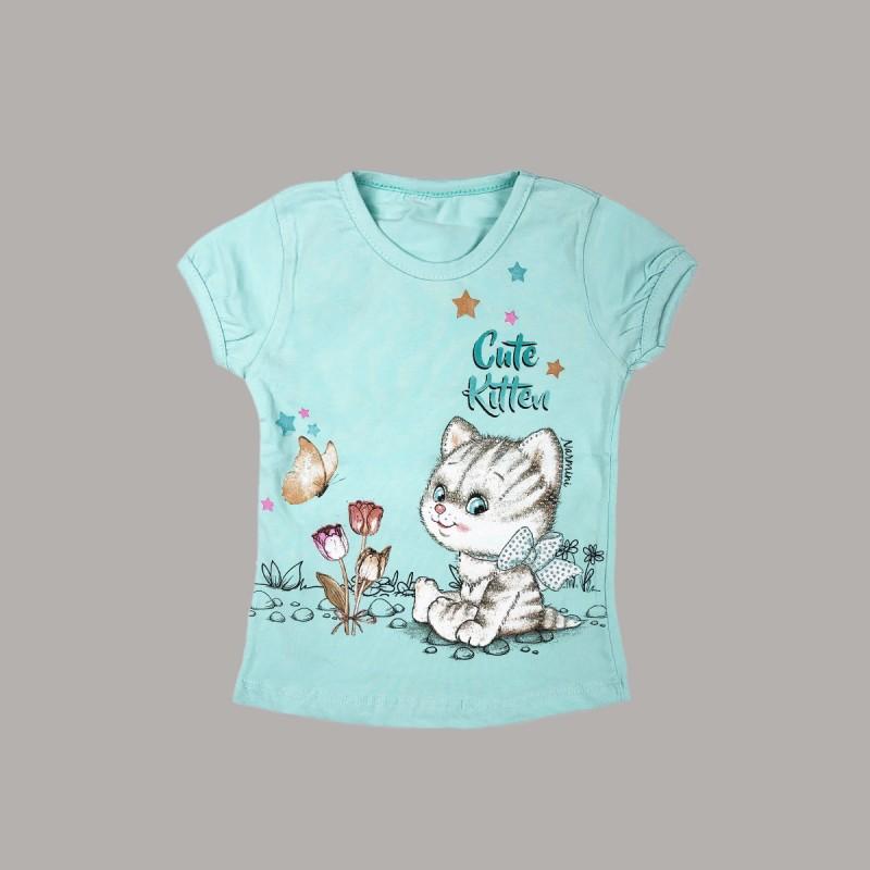 Детска тениска Keiki с къс ръкав за момичета. - 51222-033-98 - view 1