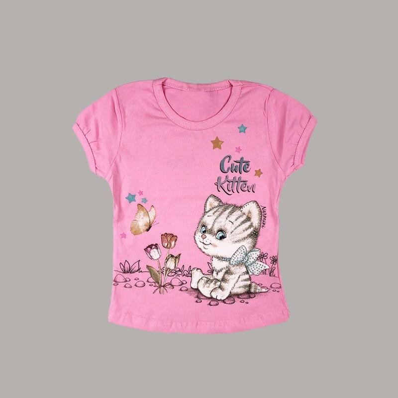 Детска тениска Keiki с къс ръкав за момичета. - 51222-005-98 - view 1