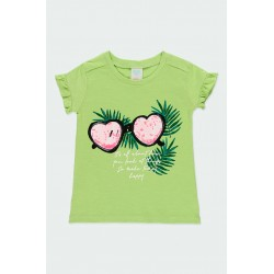 Тениска Boboli с къс ръкав - 412131-4540 - view 1