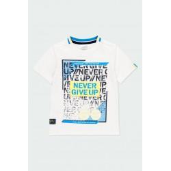 Тениска Boboli с къс ръкав - 502142-1100 - view 1