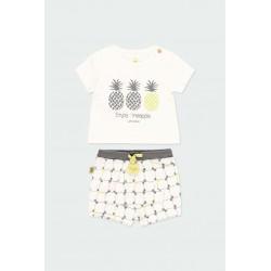 Комплект Boboli с тениска... - 602042-1111 - view 1