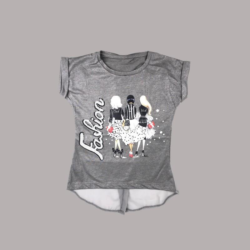 Детска тениска Keiki с къс ръкав за момичета. - 51318-031-110 - view 1