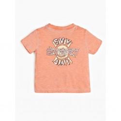 Тениска Guess с къс ръкав - N02I17K9N50FLPC - view 1