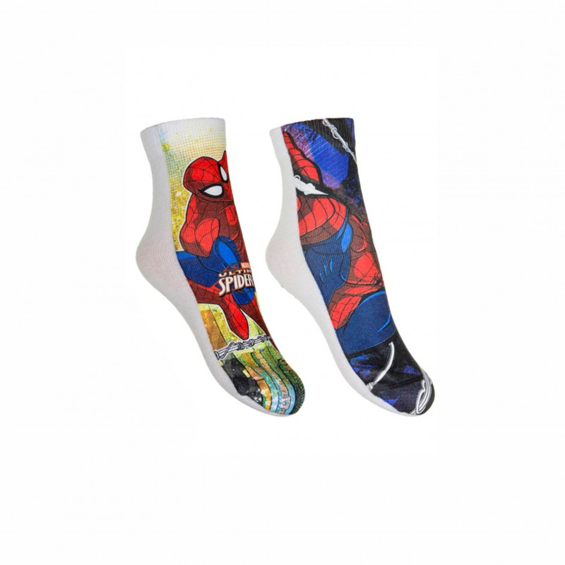 Комплект 2 чифта чорапи Spiderman за момчета. - QE4764-23 - view 1
