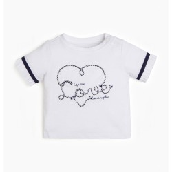 Тениска Guess с къс ръкав - K02I09K5M20TWHT - view 1