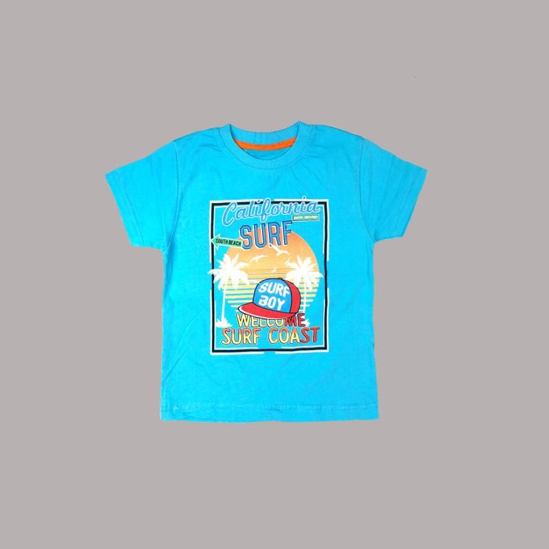 Детска тениска Keiki с къс ръкав за момчета. - 51857-045-128 - view 1