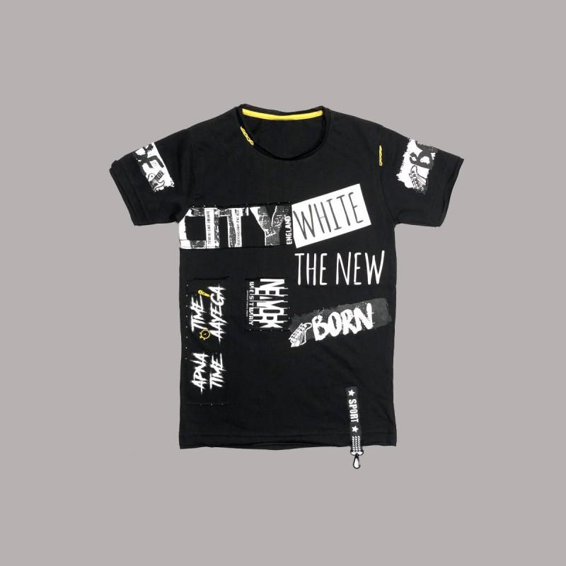 Детска тениска Keiki с къс ръкав за момчета. - 51336-047-152 - view 1