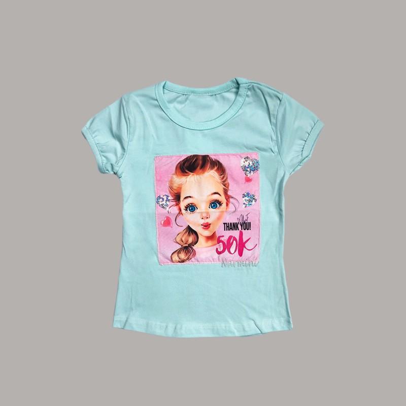 Детска тениска Keiki с къс ръкав за момичета. - 51255-033 - view 1