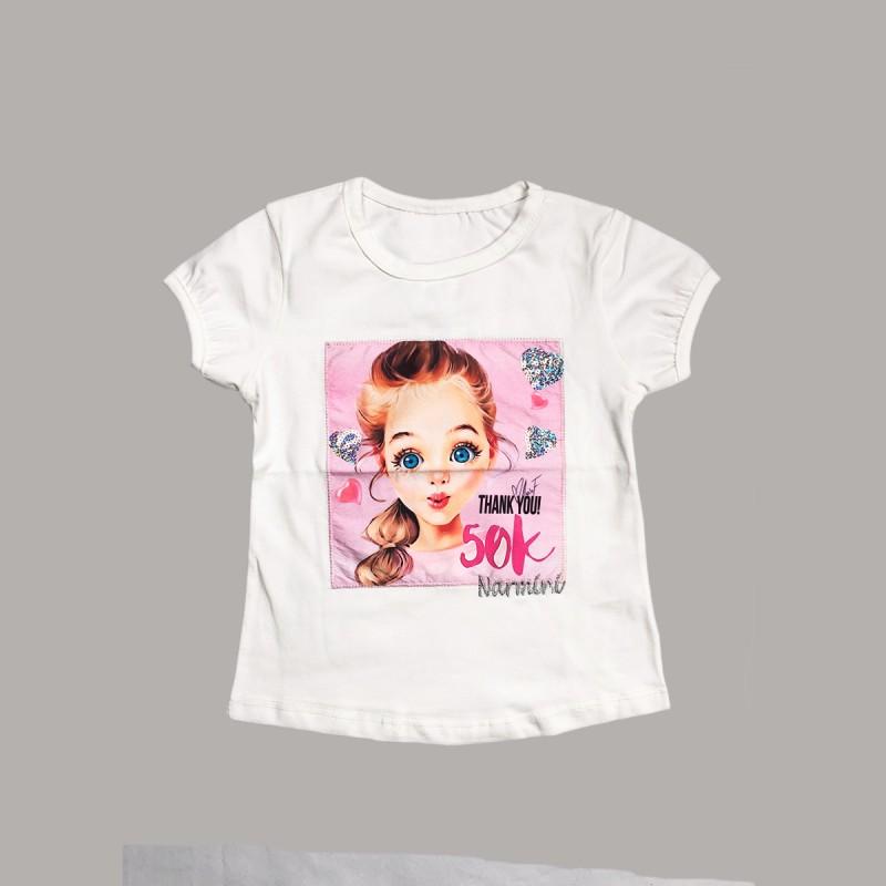 Детска тениска Keiki с къс ръкав за момичета. - 51255-015 - view 1