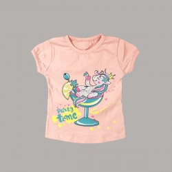 Тениска Keiki с къс ръкав
