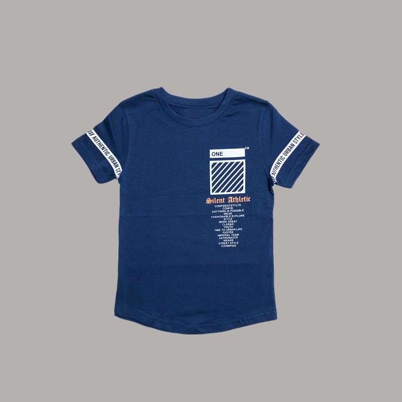 Детска тениска Keiki с къс ръкав за момчета. - 51424-036-128 - view 1