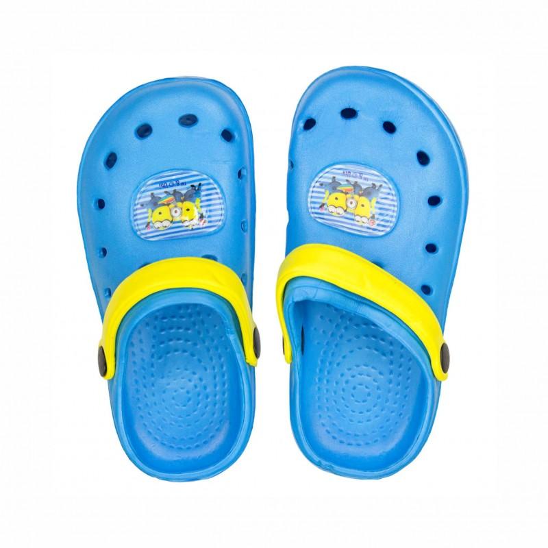 Детски чехли Minions (Миньоните) за момчета. - UN09804 blue-30 - view 1