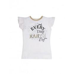 Тениска Guess с къс ръкав - J02I10K6YW0TWHT - view 1