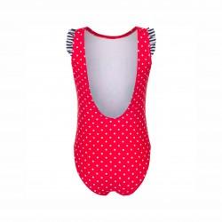 Детски цял бански Minnie Mouse (Мини Маус) за момичета. - ET1744 red - view 2