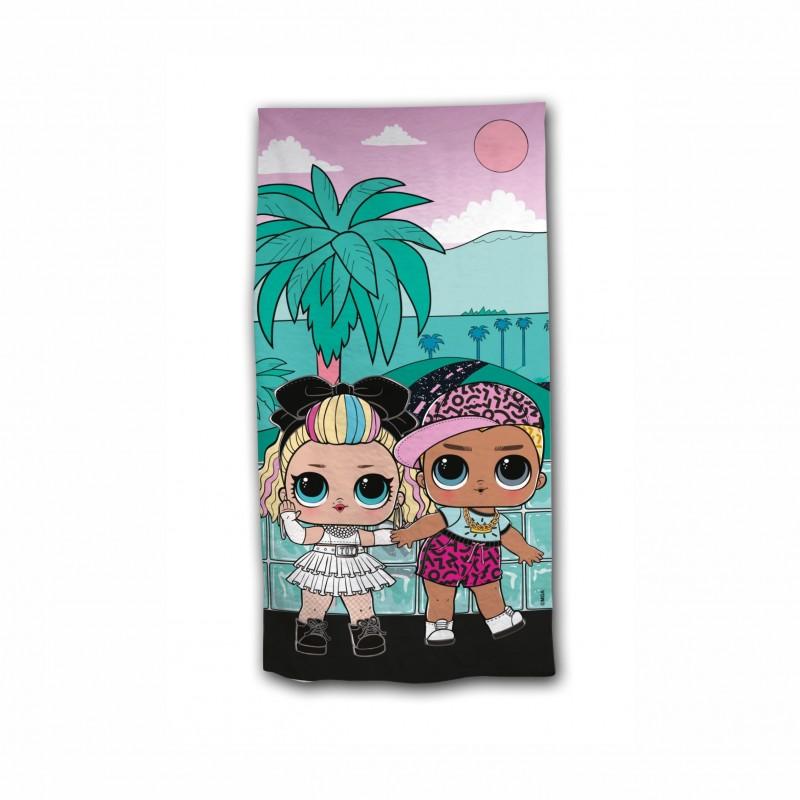 Детска плажна кърпаL.O.L. Surprise (Кукла Лол) за момичета. - AYM-001LOL-BT - view 1