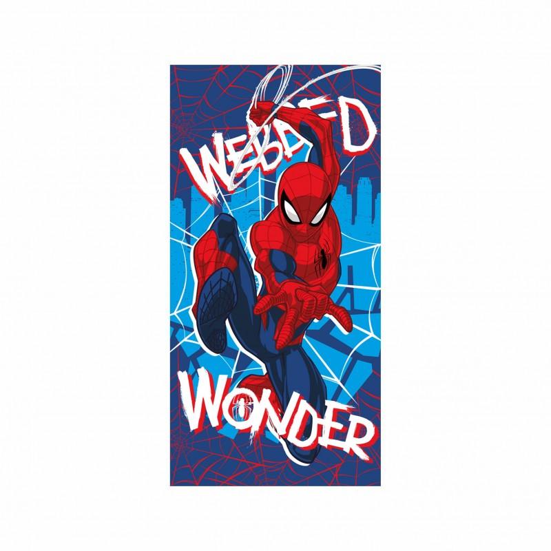 Детска плажна кърпа Spiderman(Спайдърмен) за момчета. - AYM19SP-BT - view 1
