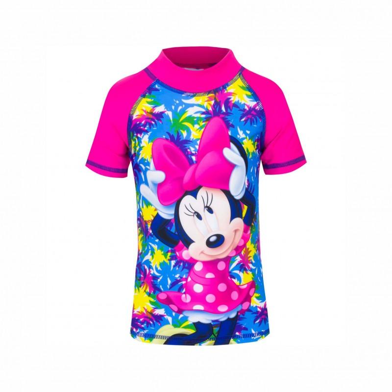 Детска тениска за плуване Minnie Mouse (Мини Маус) за момичета. - SE1861 pink - view 1