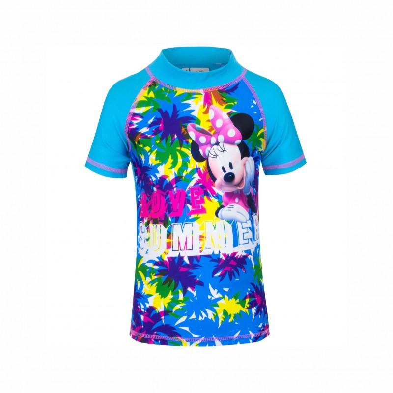 Детска тениска за плуване Minnie Mouse (Мини Маус) за момичета. - SE1861 blue - view 1