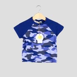 Детски комплект тениска къс ръкав и къси панталони Organic Kid за момчета. - 10271-003 - view 2