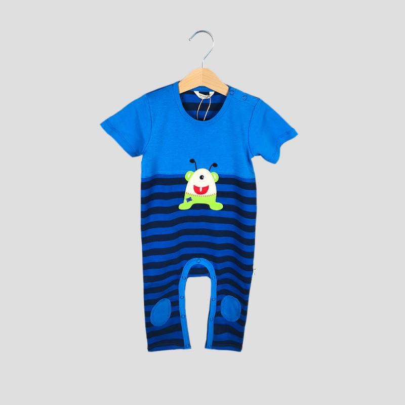 Бебешки гащеризон Organic Kid за момчета. - 10092-004 - view 1