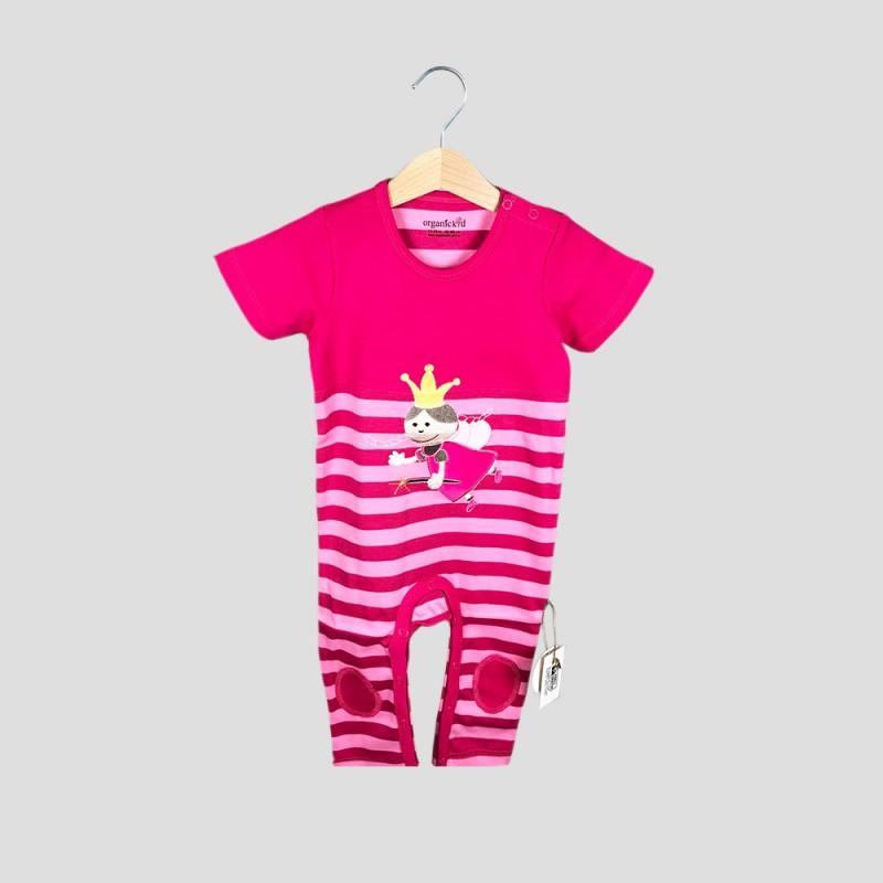 Бебешки гащеризон Organic Kid за момичета. - 10092-003 - view 1