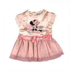 Рокля Minnie Mouse с къс...