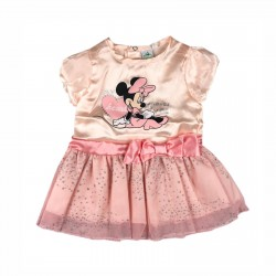 Рокля Minnie Mouse с къс... - AHQ0229 pink - view 1
