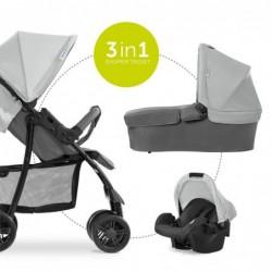 Бебешка количка 3в1 Hauck...