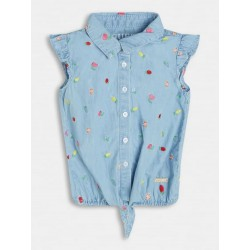 Дънкова риза Guess