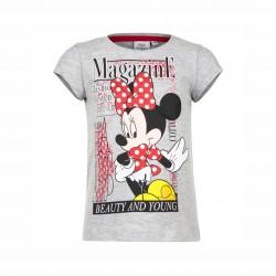 Тениска Minnie Mouse с къс... - EP1082 grey-98 - view 1