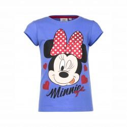 Тениска Minnie Mouse с къс... - EP1082 blue-116 - view 1