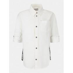 Риза Guess с дълъг ръкав - L1RH01WDLI0TWHT - view 1