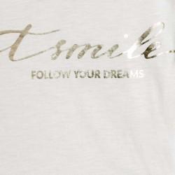 Ламинирана тениска с къс ръкав за момиче - 6010-003 - view 3
