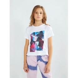 Тениска Guess с къс ръкав - J1YI34K46D1TWHT - view 1