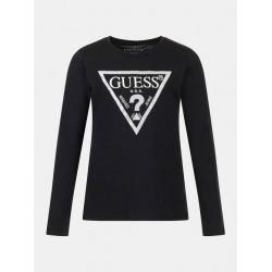 Тениска Guess с дълъг ръкав - J84I36K8HM0A996 - view 1