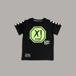 Детски комплект Keiki с тениска къс ръкав и къси панталони за момчета. - 51491-047 - view 3