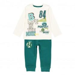 Комплект Boboli с тениска... - 333098-1111 - view 1