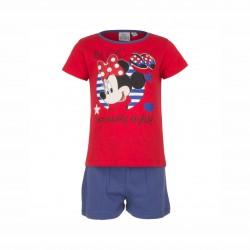 Пижама Minnie Mouse с къс...