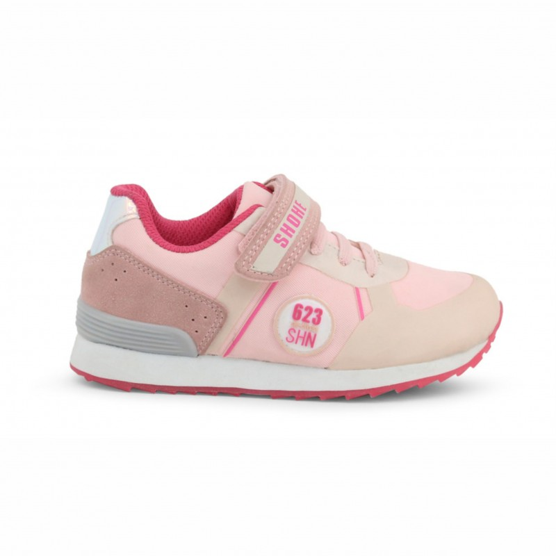 Детски спортни обувки Shone за момичета. - LB-406 pink - view 1