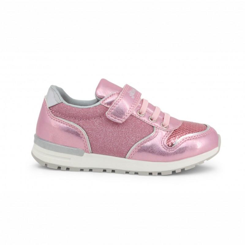 Детски спортни обувки Shone за момичета. - 6726-003 pink - view 1