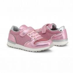 Детски спортни обувки Shone за момичета. - 6726-003 pink - view 2