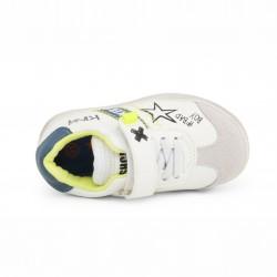 Детски спортни обувки Shone за момчета. - 208-104 white blue - view 2