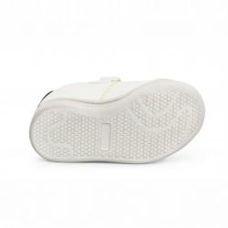 Детски спортни обувки Shone за момчета. - 208-104 white blue - view 4