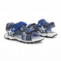 Детски сандали Shone за момчета. - 6015-027 navy - view 3