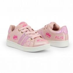 Детски сникърси Shone за момичета. - 208-102 pink - view 3
