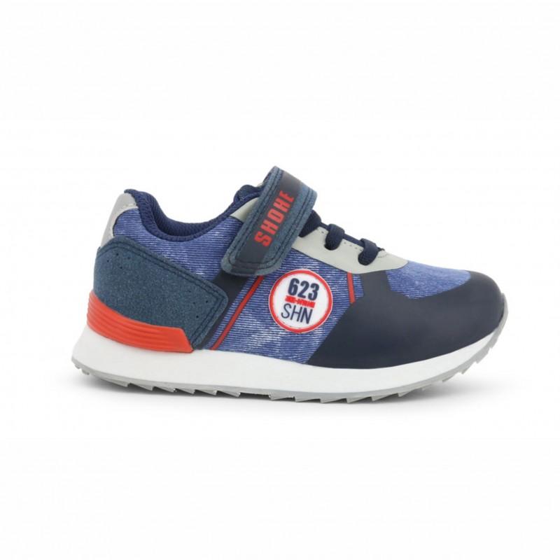 Детски спортни обувки Shone за момчета. - LB-406 navy - view 1