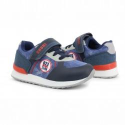 Детски спортни обувки Shone за момчета. - LB-406 navy - view 3